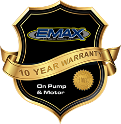 Ten Year Warranty on EMAX Rotary Screw Air Compressors