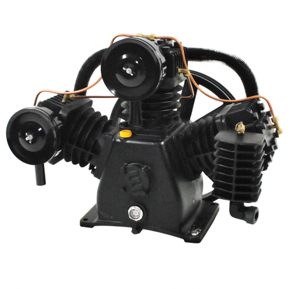 7.5 HP 2 Stage 32 CFM Reciprocating Air Compressor Pump by Airbase Industries