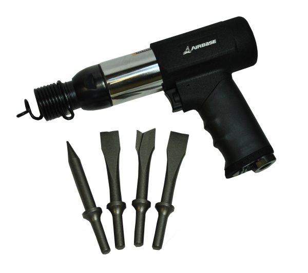 Air Hammer Kit, Industrial Grade, Vibration-Dampening, Airbase Industries, SKU: EATHM10S1P