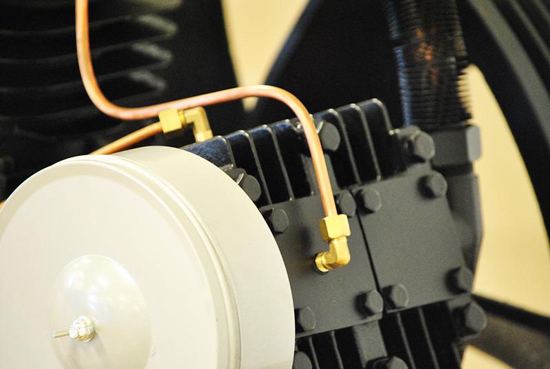 20hp 2 Stage 62 Cfm Reciprocating Air Compressor Pump