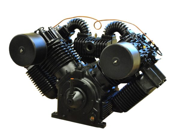25hp 2 Stage V4 98CFM Reciprocating Air Compressor Pump