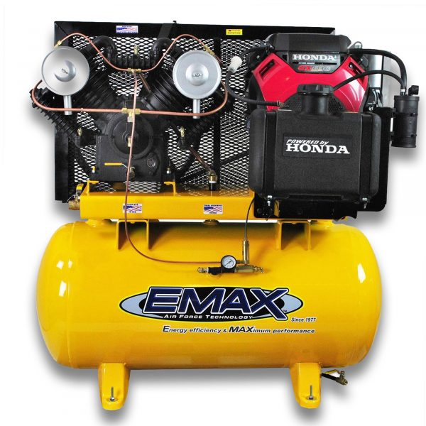 18 HP Gas Air Compressor, 2 Stage, V4, 30 Gallon, Truck Mount