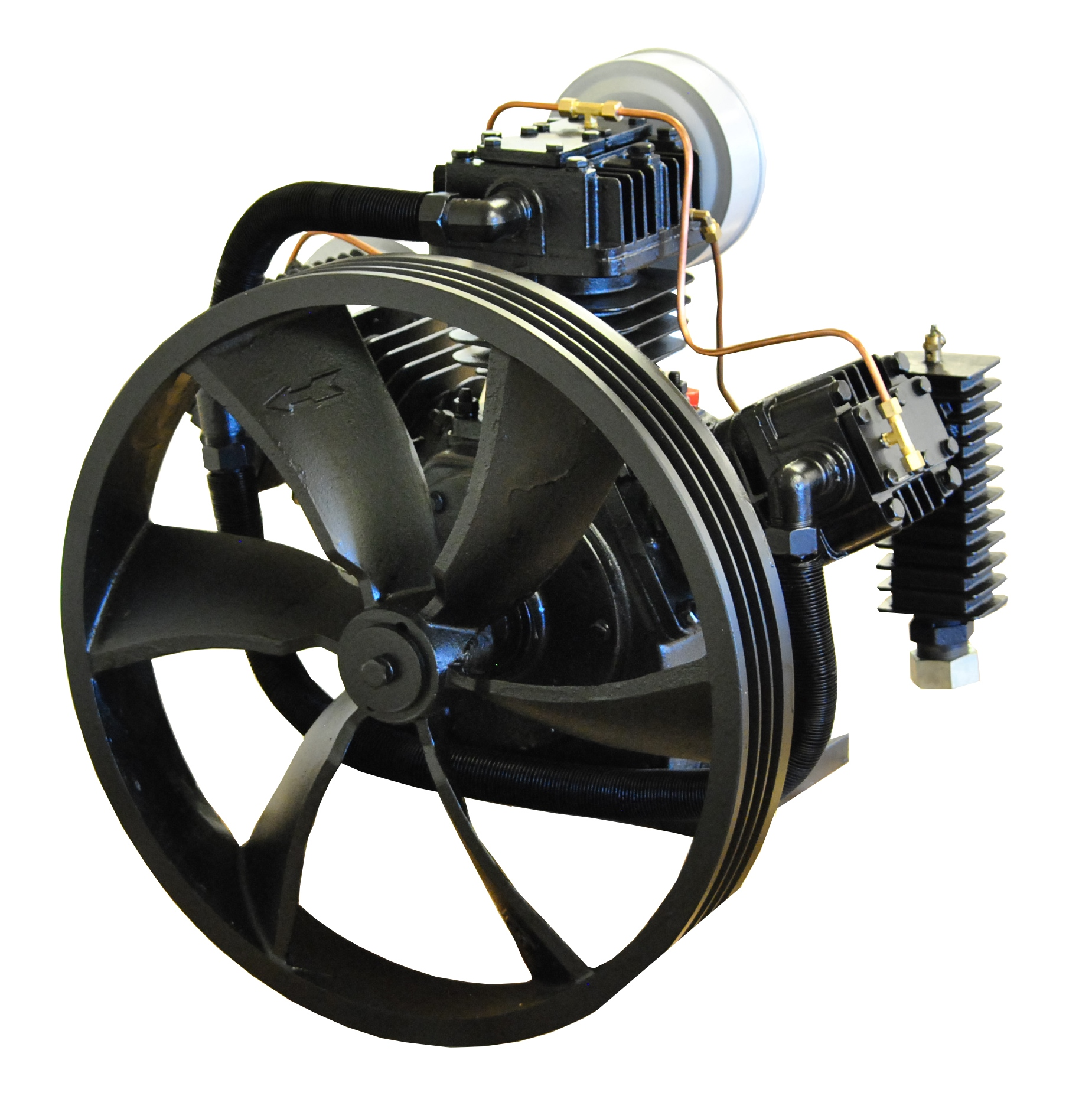 20hp 2 Stage 62 Cfm Reciprocating Air Compressor Pump