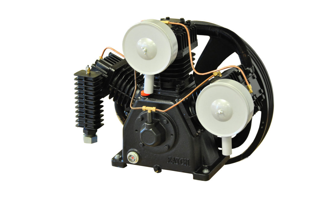 Emax Compressor | 15hp 2 Stage 3 Cylinder 44 CFM