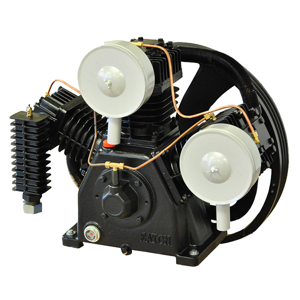 15hp 2 Stage 3 Cylinder 44 CFM Reciprocating Air Compressor Pump