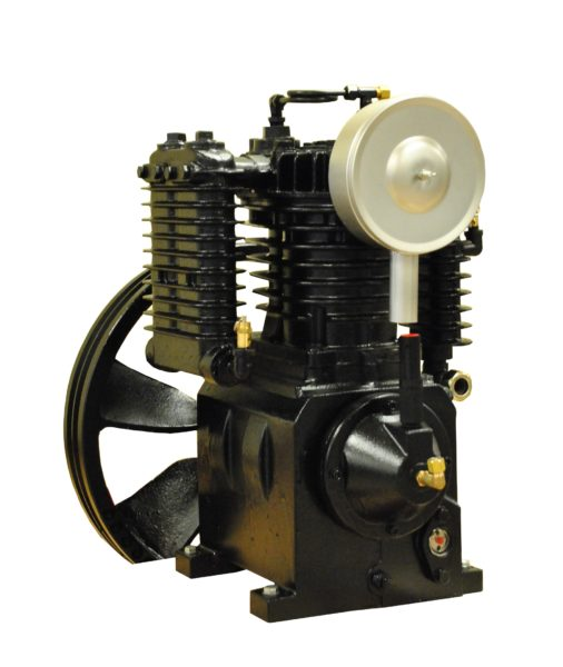 5 HP 2 Stage 24 CFM Reciprocating Air Compressor Pump by Airbase Industries