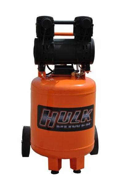 Portable Air Compressor, 2 HP, 10 Gallon, Hulk Silent Air-HP02P010SS