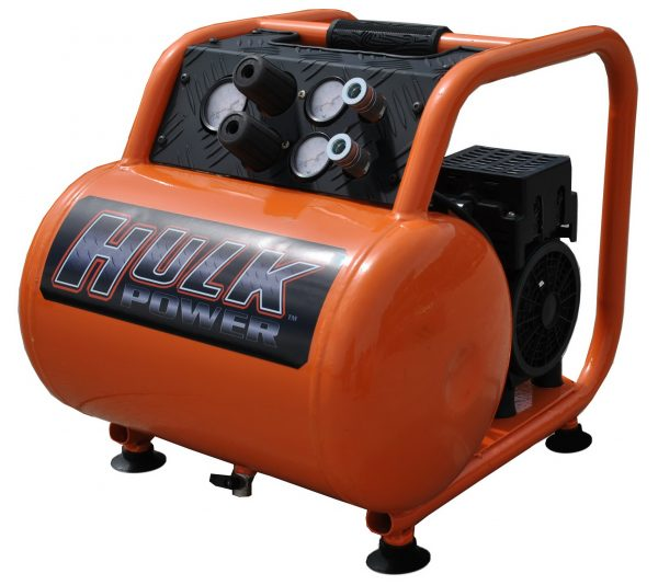 Portable Air Compressor, 1.5 HP, 5 Gallon, Hulk Silent Air