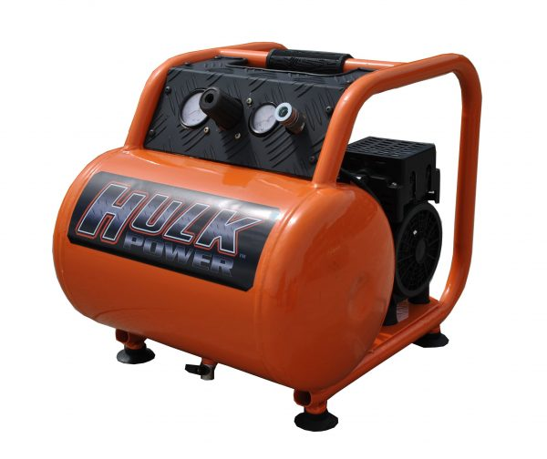 Portable Air Compressor, 1 HP, 5 Gallon, Hulk Silent Air