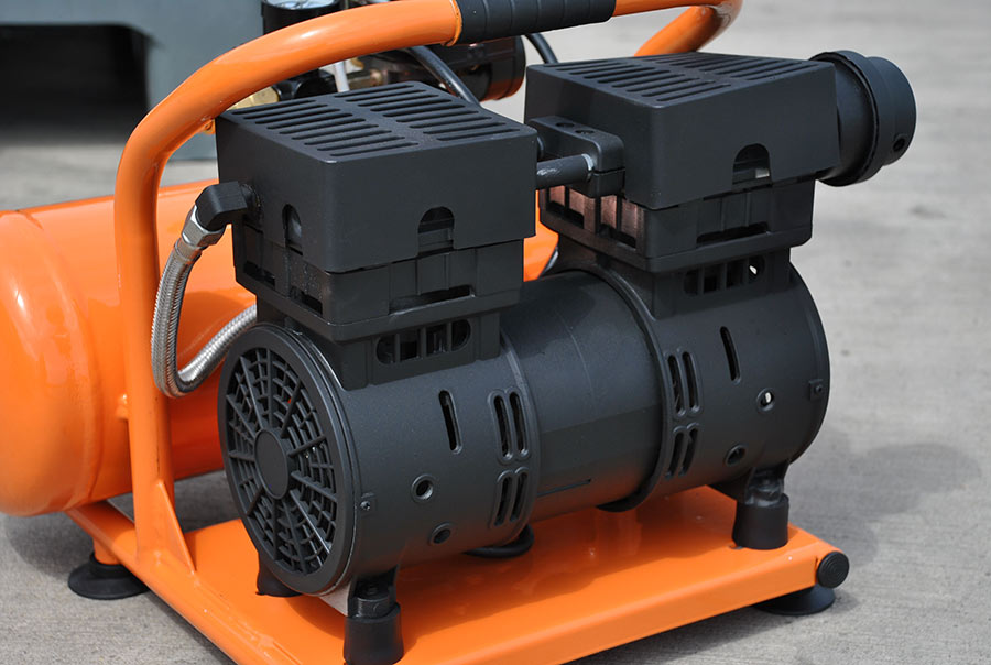 Portable Air Compressor 1 5 Hp 5 Gallon Hulk Silent Air
