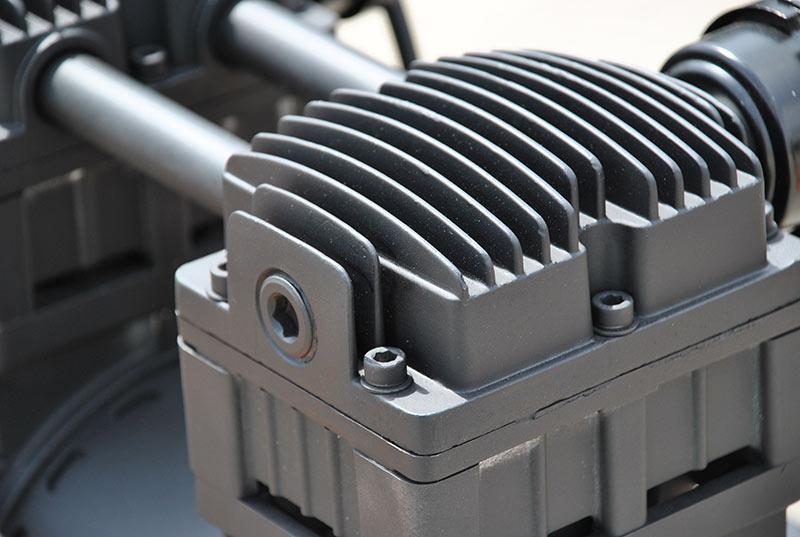 Portable Air Compressor 2 Hp 20 Gallon Hulk Silent Air