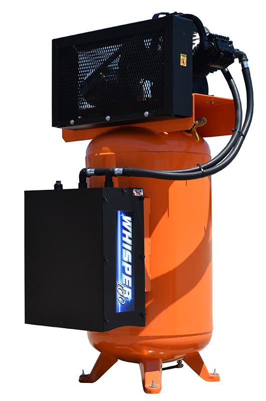 Hulk Silent Air 5hp 80 Gallon Air Compressor