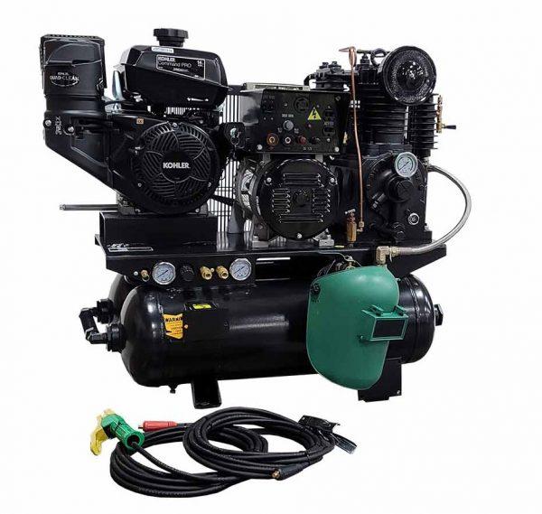 14hp, Gas Air Compressor, Welder, Generator combination