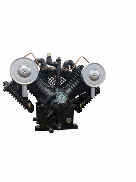 10hp 2 Stage 43 CFM Pressure Lubricated Air Compressor Pump