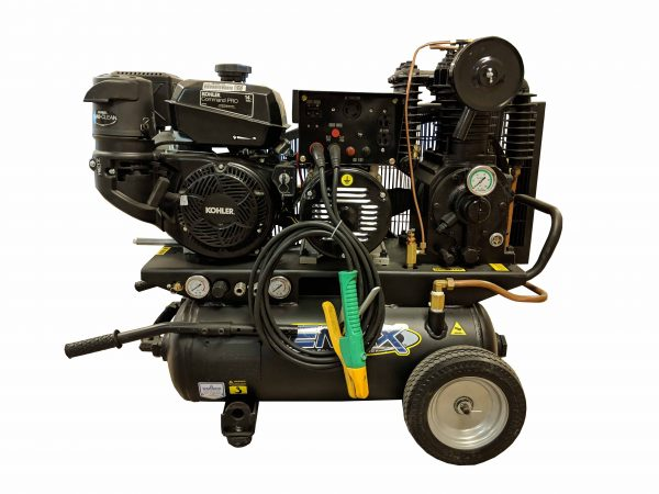 14hp, Gas Air Compressor, Welder, Generator combination