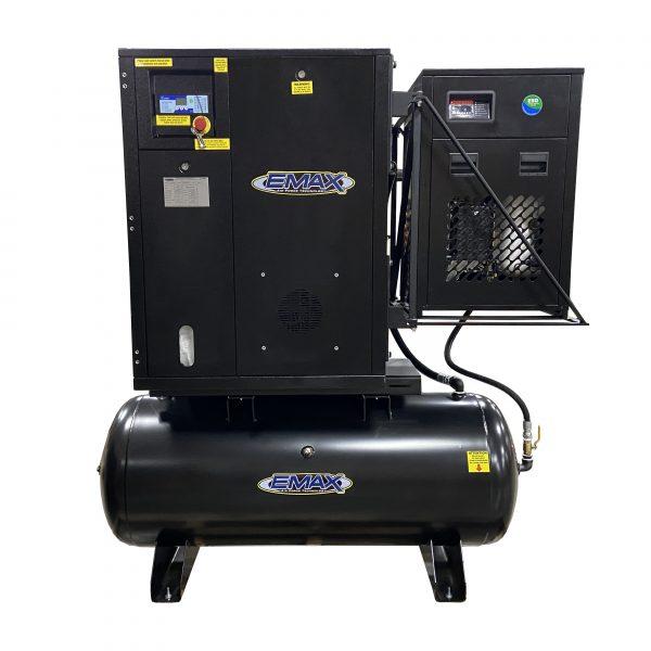 5HP 1PH Industrial Rotary Screw Compressor-80 Gal Tank Mount w/ Air Dryer – ERIK050001