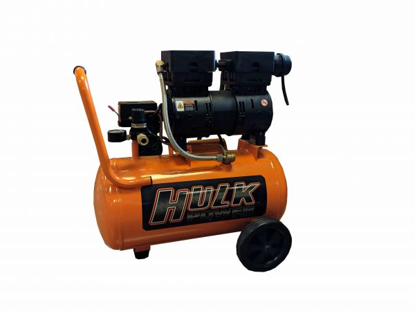 Portable Air Compressor, 1 HP, 6 Gallon, Hulk Silent Air