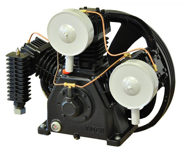 5 HP 2 Cylinder 32 CFM Reciprocating Air Compressor Pump by Airbase Industries