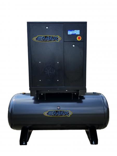 5HP 1PH Industrial Rotary Screw Compressor-80 Gal Tank Mount -ERI0050801